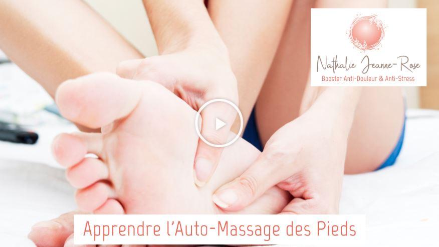 Auto-massages des pieds